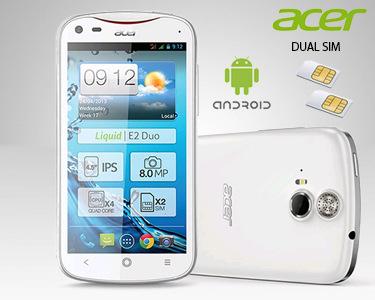 Acer Liquid E2 Duo | Quad Core & Android 4.2