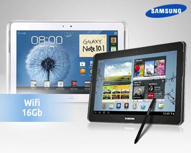 Samsung® Galaxy Note 10.1 - Wi-Fi, 16GB | Branco ou Cinza Escuro