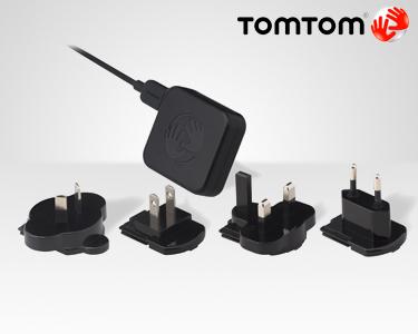 TomTom® Carregador Doméstico de Viagem Universal