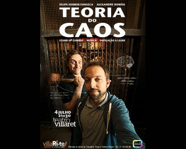 Uma Noite Divertida & Inteligente | «A Teoria do Caos» no Villaret