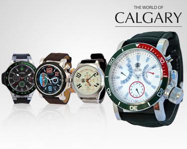 4 Relógios Calgary® para Homem | Um Relógio Para Cada Ocasião