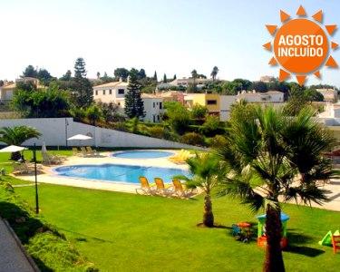 Portimão | Férias de Verão em T1 c/ Vista Piscina até 4 Pessoas
