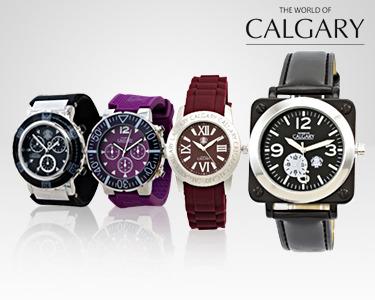 Conjunto 4 Relógios Calgary® Femininos | Oferta de Guarda Relógios