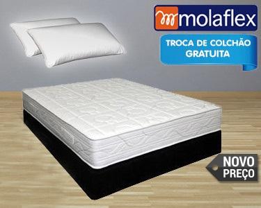 Colchão Viscoel��stico & 2 Almofadas Molaflex®
