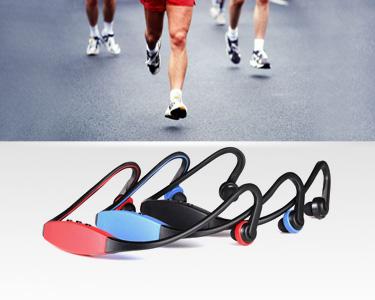 Auriculares Desportivos sem Fios com MP3