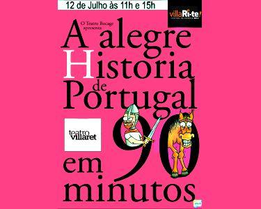 Uma Divertida Comédia! «A alegre História de Portugal em 90 minutos»