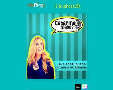 «Uma Portuguesa Achada no Brasil»   Stand Up Comedy   Teatro Villaret