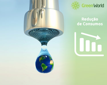 Kit Redução de Consumo de Água Green World | Para um Mundo Melhor