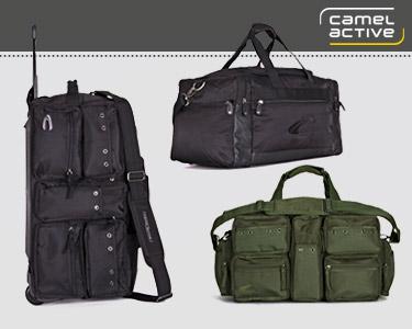 Malas de Viagem Camel Active®   4 Modelos Disponíveis