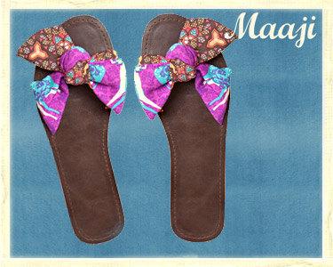 Sandálias Maaji® | Mistura de Cores, Formas e Texturas