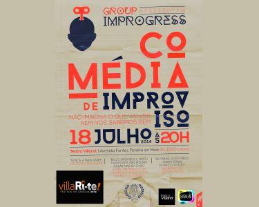 «Comédia de Improviso» | Villari-Te | Teatro Villaret