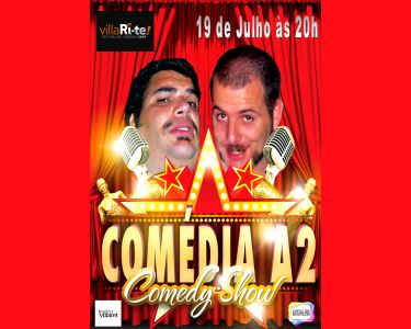 Uma Noite Imperdível | «Comédia A2» no Teatro Villaret