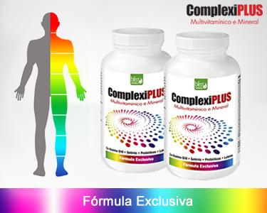 2 Frascos Complexiplus - Multivitaminico 100% Natural