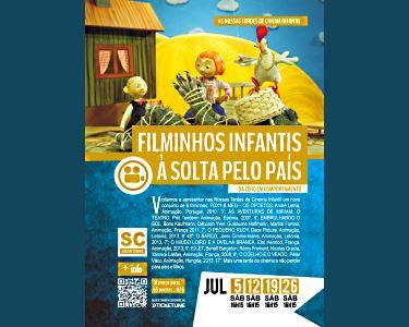Filminhos Infantis à Solta pelo País | 12, 19 e 26 de Julho | até 3 pessoas | Malaposta