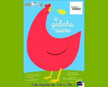 «A Galinha Ruiva» | Teatro Infantil | Villari-Te | Teatro Villaret