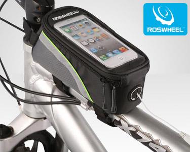 Bolsa para Bicicleta com Janela para Smartphones | Extra Conforto