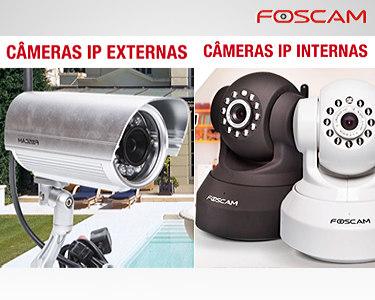Câmaras videovigilância Wireless IP - Interior ou Exterior