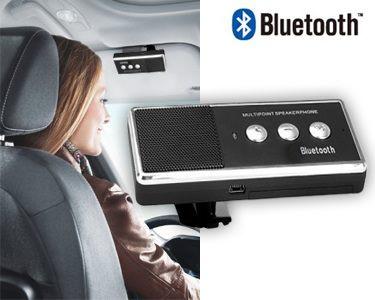 Kit Mãos Livres Bluetooth para Automóvel