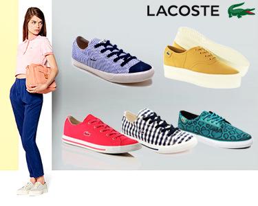 Ténis Casuais para Senhora da Lacoste® | 5 Modelos com Cores à Escolha