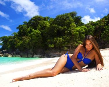 Madeixas Californianas + Corte + Brushing | Beach Look