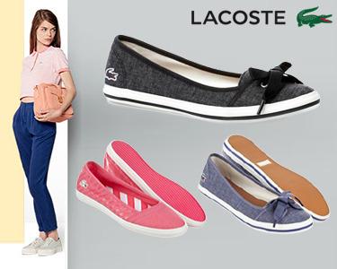 Sabrinas da Lacoste® | 2 Modelos com Cores à Escolha