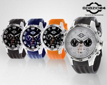 Relógio Spazio24® Wave Chrono Modelos L4056 | 4 Modelos Para Ele