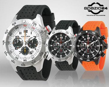 Relógio Spazio24® Ocean Chrono L4051   3 Modelos Para Homem