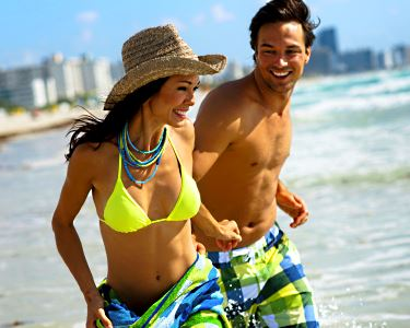 Um dia VIP na Praia: Espreguiçadeira + Sombra + Refeição + Bebida para 2