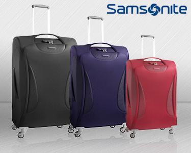 Mala de Viagem Samsonite® Spinner | Escolha o Modelo e Cor