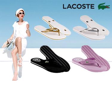 Chinelos Lacoste® para Senhora | 2 Modelos com Cores à Escolha