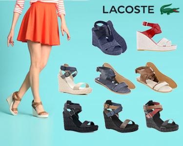 Sandálias Lacoste® | Escolha o Modelo e a Cor