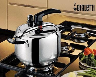 Panela Pressão Très Bon 7L Bialetti®    Comida Delicada e Gostosa