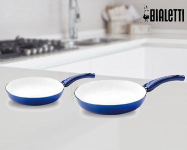 Conjunto 2 Frigideiras Easy Line Blue 24/28cm | Bialetti®