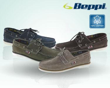 Beppi® Sapato Casual em Pele para Homem | Escolha a Cor e o Tamanho