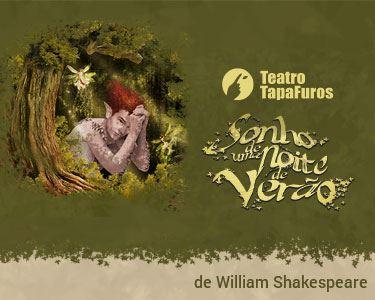 «Sonho de uma Noite de Verão» de Shakespeare | 2 Ou 3 pessoas | Sintra
