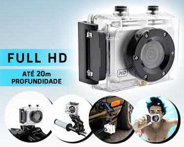 Câmara de Acção Full HD | Eternize Momentos de Diversão