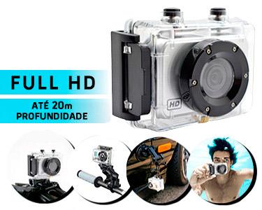 Câmara de Acção WTX PRO Sport Full HD 1080p | À Prova de Água
