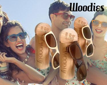 Woodi Sunglasses | Óculos de Sol de Madeira - Escolha o Seu Modelo