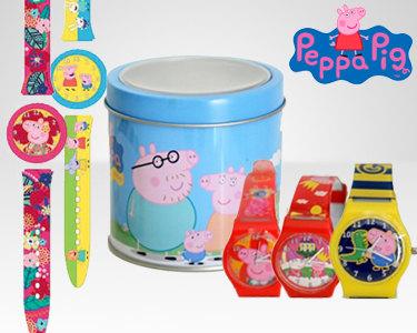 Relógios para Crianças Peppa Pig   Escolha o Seu