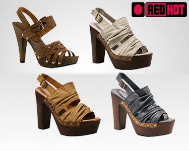 Sandálias de Salto Alto RedHot® | Escolha o Modelo e o Tamanho