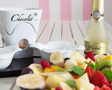 Fondue de Chocolate com Frutas Frescas & Espumante a Dois | Telheiras