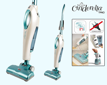 Aspirador Ciclónico Vertical | Polti® Cinderella Trio PBEU0073