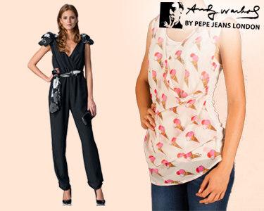 Andy Warhol by Pepe Jeans® | 3 Modelos para Senhora - Escolha o Seu