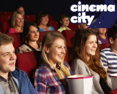 Vá ao Cinema! Bilhete + Pipocas no Cinema City | 6 Locais