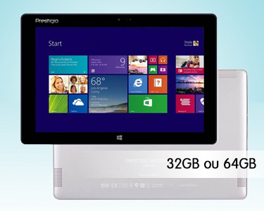 Multipad Prestigio Visconte 10.1' | 32GB ou 64 GB