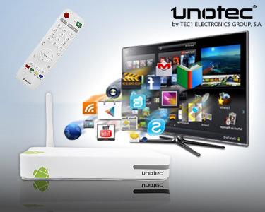 Unotec TiviBox Android TV   Transforme a sua TV