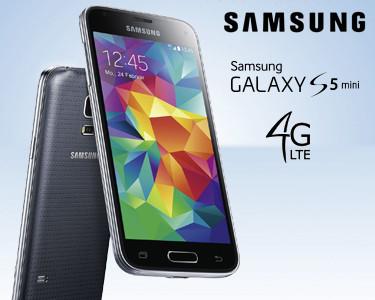 Smartphone Samsung Galaxy S5 Mini   Preto