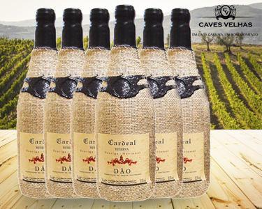 Caixa 6 Garrafas de Vinho Cardeal Reserva DOC Tinto | Touriga Nacional