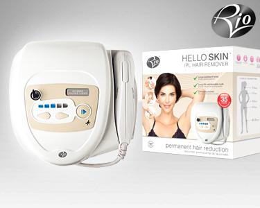 Depiladora IPL Hello Skin IPHR-C | Depilação Definitiva