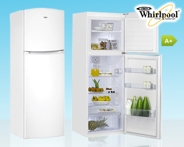 Frigorífico Combinado Duas Portas Whirlpool® | A+ 320L - Ref. WTE 3111